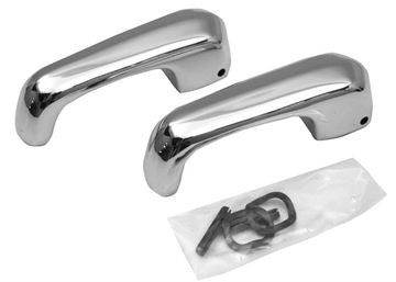 Picture of VENT WINDOW HANDLE EARLY 68 PAIR : M3529D FALCON 68-70