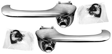 Picture of DOOR HANDLE 65-66/69-70 OUTER PAIR : M3616 FALCON 64-65
